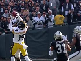 JuJu gets UP for impressive grab over defender