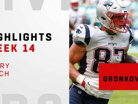 Every catch from Rob Gronkowski's 107-yard day | Week 14
