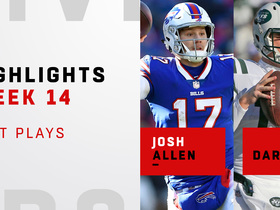 Josh Allen vs. Sam Darnold highlights | Week 14
