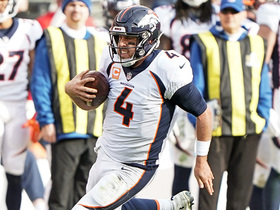 Keenum keeps it for 16 yards to convert on third-and-long