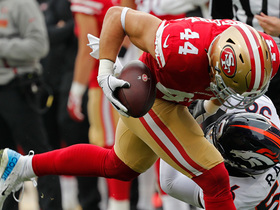 Juszczyk converts third-and-long on tunnel screen