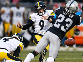 Chris Boswell misses 39-yard field goal attempt to tie game