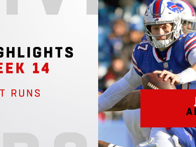 Josh Allen's best runs from record-setting three-week spree | Weeks 12-14