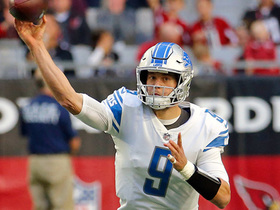 Stafford slings side-arm pass to Toilolo for first down