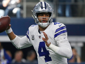 Dak's pass intended for Gallup goes high for near pick-six