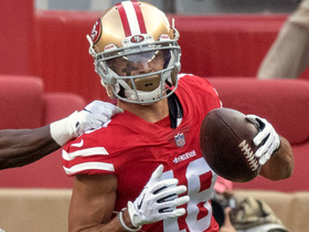 Dante Pettis beats Bradley Roby for 17-yard grab