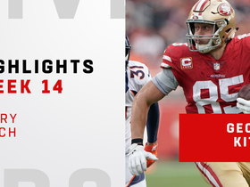 Every Kittle catch from 210-yard day vs. Denver | Week 14