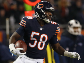 Roquan Smith grabs his first NFL INT on Goff pass