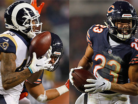 Rams, Bears trade back-to-back interceptions