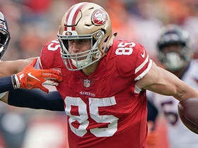 Sharpe 'can't believe' Kittle didn't break his single-game receiving yards TE record