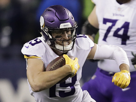 Thielen breaks two tackles for twirling red-zone first down