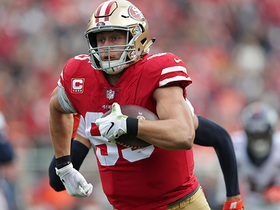 Burleson: Why Kittle has been underappreciated this season