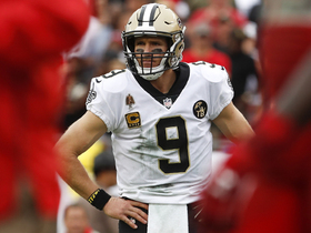 Why is Brees graded as the No. 1 QB on PFF's list?