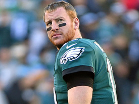 Pelissero: Carson Wentz is dealing with a 'chronic back issue'