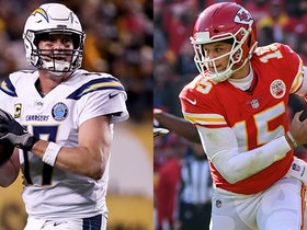 Which QB will be a better start on 'TNF': Rivers or Mahomes?