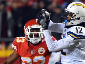 Benjamin makes TOUGH grab of Rivers' pinpoint pass between three DBs