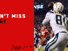 Can't-Miss Play: Williams' clutch TD, two-point catch propel Chargers to victory