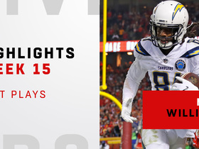 Best plays from Mike Williams' huge night | Week 15