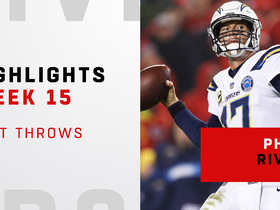 Best throws from Philip Rivers' 313-yard night | Week 15