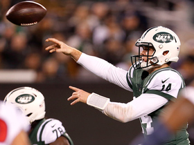 On-the-run TD throw from Darnold gets Jets into end zone