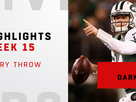 Every throw from Sam Darnold vs. Texans | Week 15