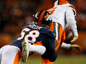 Von Miller breaks Broncos' all-time sack record