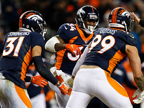 Broncos defense steps up on critical fourth down