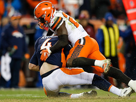 Jabrill Peppers seals win for Browns with huge sack