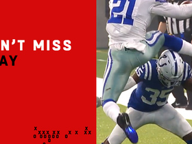 Can't-Miss Play: Zeke goes WAY UP to hurdle Desir for first down