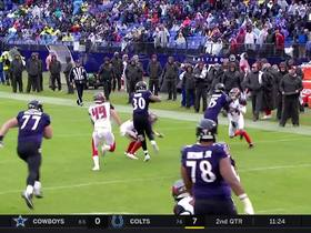 Kenneth Dixon dusts multiple defenders for 16-yard gain