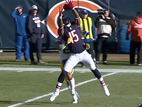 Bellamy fully extends to haul in deep pass from Trubisky