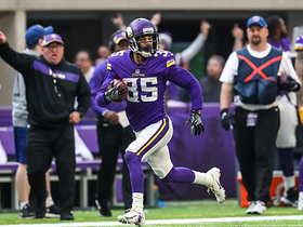 Sherels shows speed on HUGE punt return