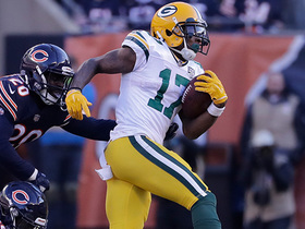 Davante Adams turns short pass into 23-yard gain