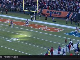 Eddie Jackson picks off Aaron Rodgers in the end zone