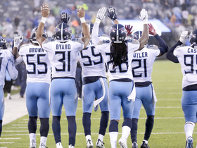 Titans unveil 'Remember the Titans' dance after big play