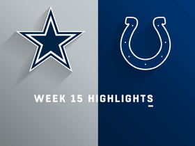 Cowboys vs. Colts highlights | Week 15