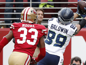 Doug Baldwin makes reaching grab for a touchdown