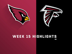 Cardinals vs. Falcons highlights | Week 15