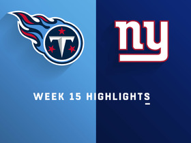 Titans vs. Giants highlights | Week 15