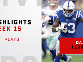 Darius Leonard's top plays from 11-tackle game | Week 15