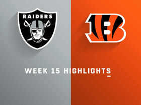Raiders vs. Bengals highlights | Week 15