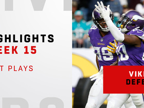 Best defensive plays from Vikings' dominant win | Week 15