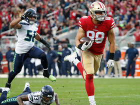 Celek slips past Seahawks' D untouched for 41-yard TD