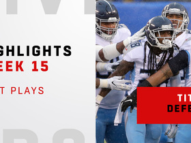 Best defensive plays from Titans' shutout win   Week 15