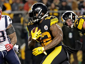 Stevan Ridley fired up after 12-yard run vs. former team