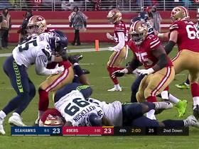 Reed, Jefferson smother Mullens for huge sack