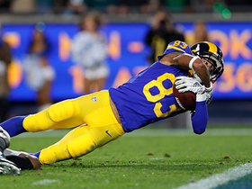 Goff's 33-yard laser to Reynolds nearly results in TD
