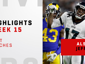 Jeffery's top catches from 160-yard game in L.A. | Week 15