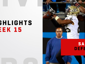 Best defensive plays from Saints big win | Week 15
