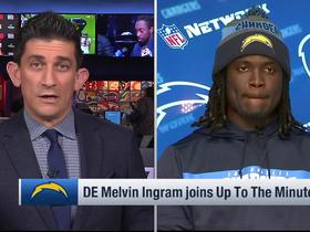 Melvin Ingram says Rivers, Bosa are both good rappers